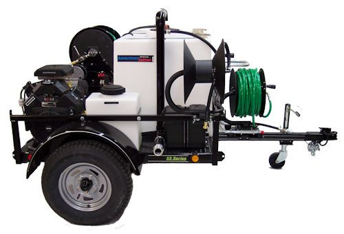 55 Series Trailer Jetter 5540 -  20 HP, 5.5 GPM, 4000 PSI