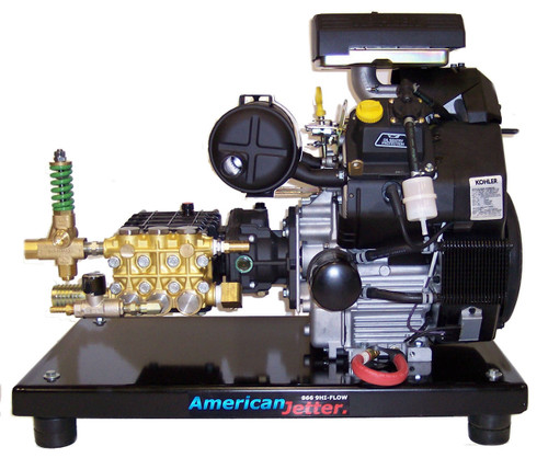 Skid Kit 5540 - 20 HP, 5.5 GPM, 4000 PSI