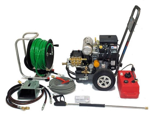 Cart Kit 4550 - 23.5 HP, 4.5 GPM, 5000 PSI, Garden Hose Inlet