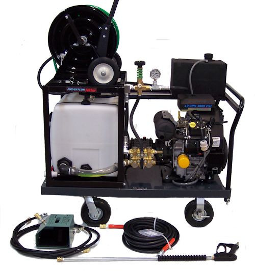 Platform Cart 740 - 27 HP, 7 GPM, 4000 PSI, 30 Gallon