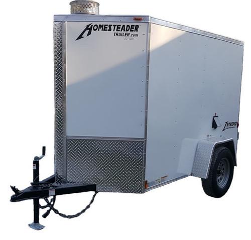 58C Cargo Trailer Hot Jetter 8540 - 32.5 HP, 8.5 GPM, 4000 PSI, 200 Gallon