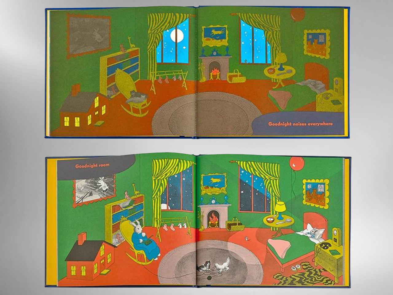 Goodnight Moon by Margaret Wise Brown, Illustrated by Clement Hurd, New
