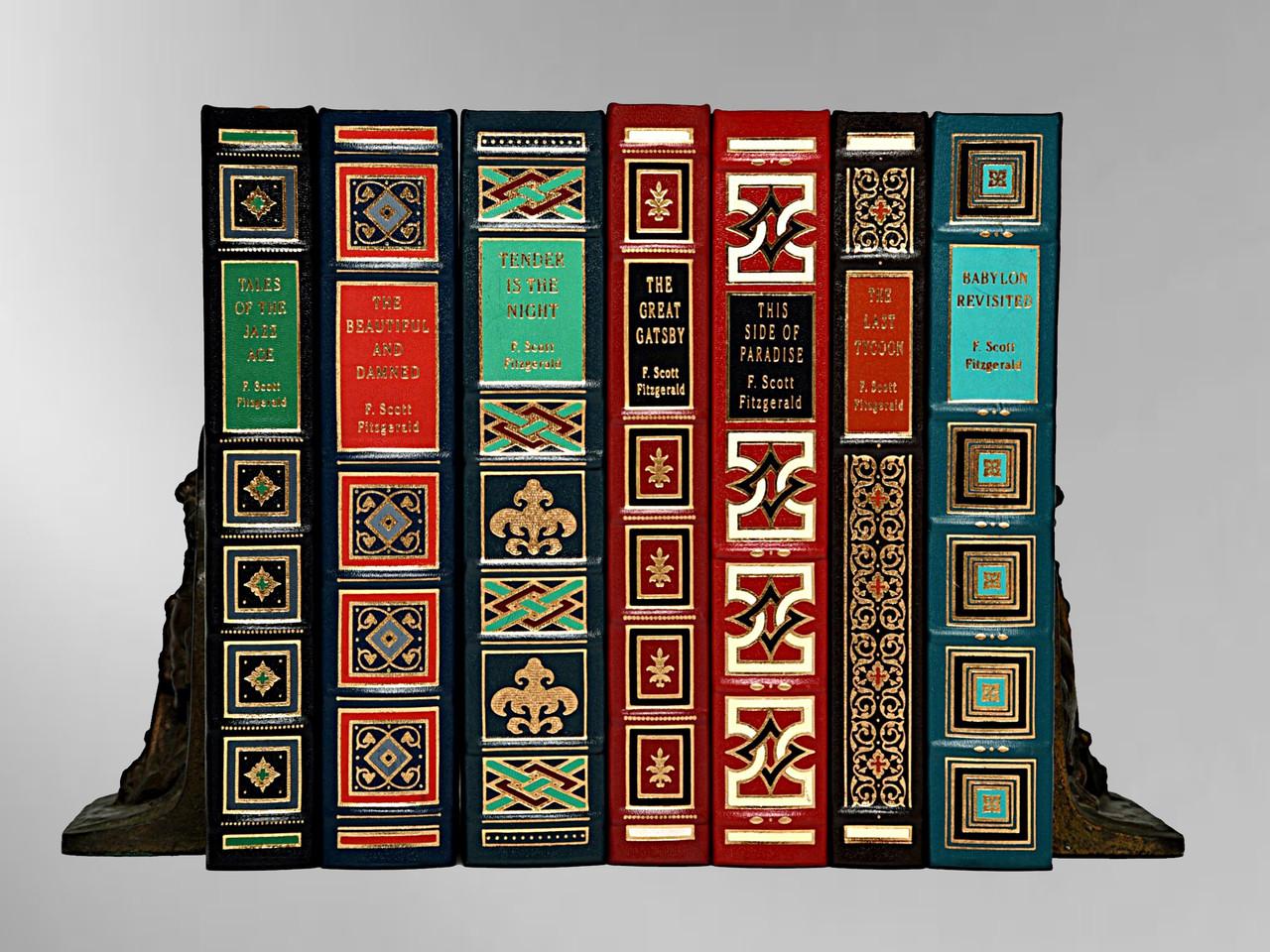 The Classics of F. Scott Fitzgerald, Complete 7 Volume Collection, Easton Press