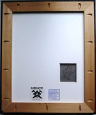"""J.H. Engstrom: Trying to Dance and Signed/Framed Print """"Radon, 2001"""""""