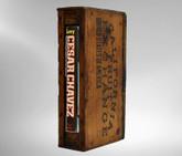 Cesar Chavez Signed First Edition, Unique Case/Sculpture by Richard Tuttle