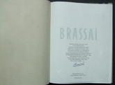 Brassai: The Artists of My Life, Signed LE and Print, 45 of 150