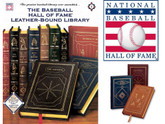 Complete Baseball Hall of Fame Collection, 27 Volumes, Leather Bound, New in Shrinkwrap