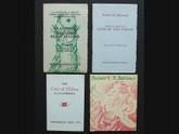 Necronomicon Press Limited Editions, 4 Volumes, H.P. Lovecraft, Robert Howard