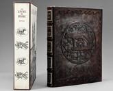 Le Livre de Rome, 1973, Limited Edition, Leather and Copper/Bronze Binding