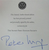 Anything Considered by Peter Mayle, Signed True 1st Edition