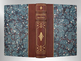 Burlesques by William Makepeace Thackeray, Signed Custom Harcourt Binding
