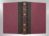 Moll Flanders by Daniel Defoe, Signed Custom Harcourt Binding