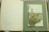 The Compleat Angler, Illustrated by James Thorpe, 1911, Custom Sims Binding