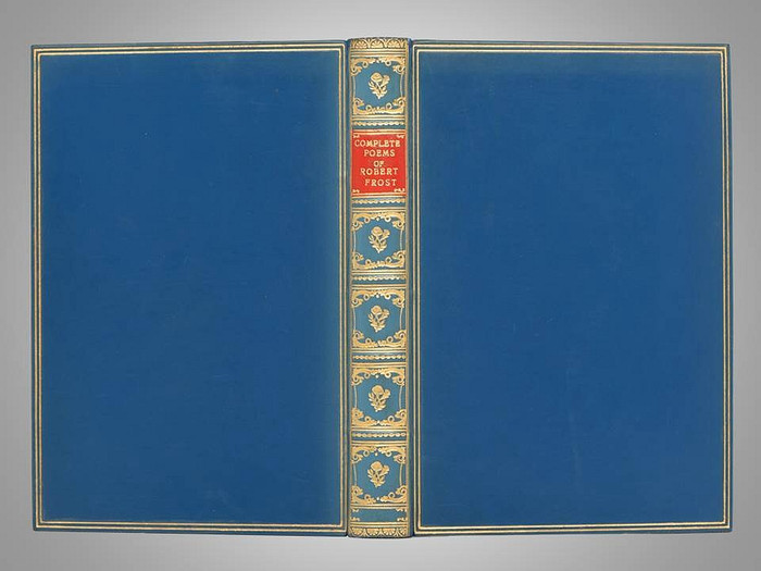 Complete Poems of Robert Frost, 1953, Signed Bayntun-Riviere Full Leather Binding