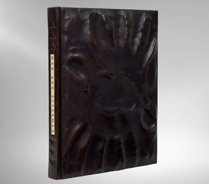 Man and Superman by George Bernard Shaw, Unique Binding by Richard Tuttle