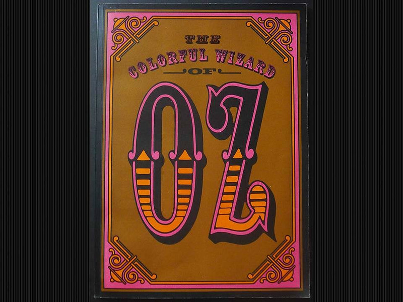 The Colorful Wizard of Oz by L. Frank Baum, Illustrated by W.W. Denslow