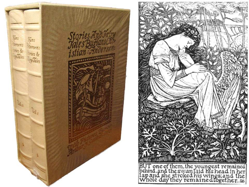 Stories and Fairy Tales by Hans Christian Andersen, Deluxe Limited Edition, New