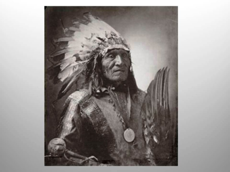 Chief He Dog by J.A. Anderson, Platinum Print, Signed by Stan Klimek