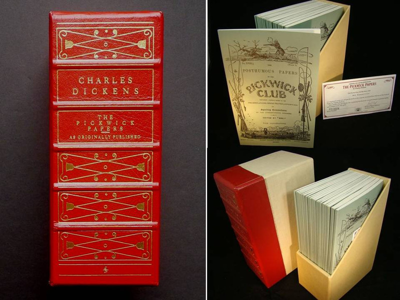 The Posthumous Papers of the Pickwick Club by Charles Dickens, Limited Edition