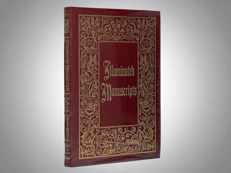 Illuminated Manuscripts and Their Makers, Easton Press, New in Shirnkwrap