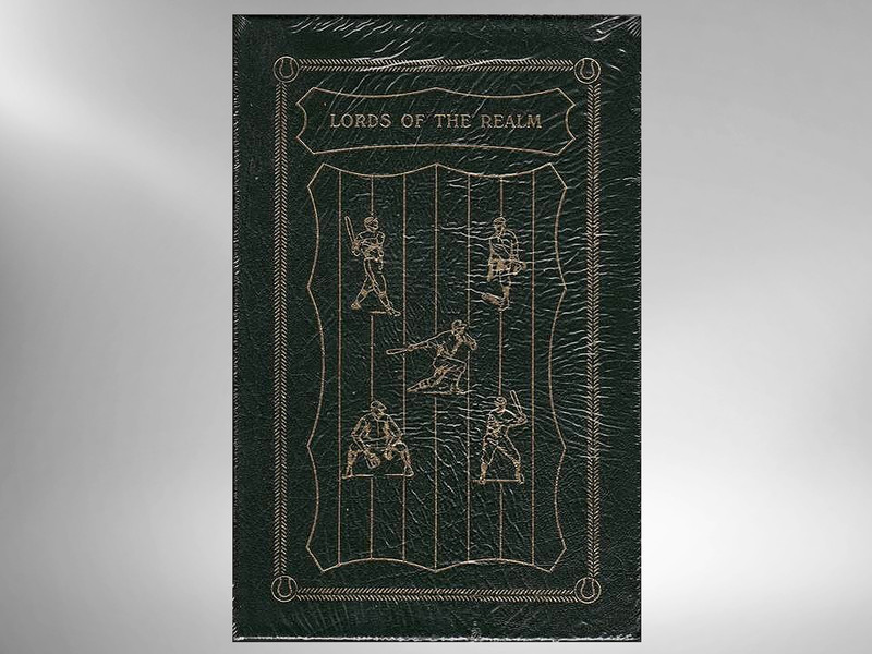 Lords of the Realm by John Helyar, Easton Press and Baseball Hall of Fame