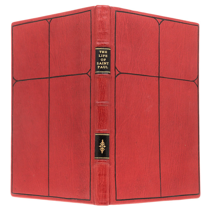 St. Paul the First Hermit, Limited Edition, Unique Binding by Constance Wozny