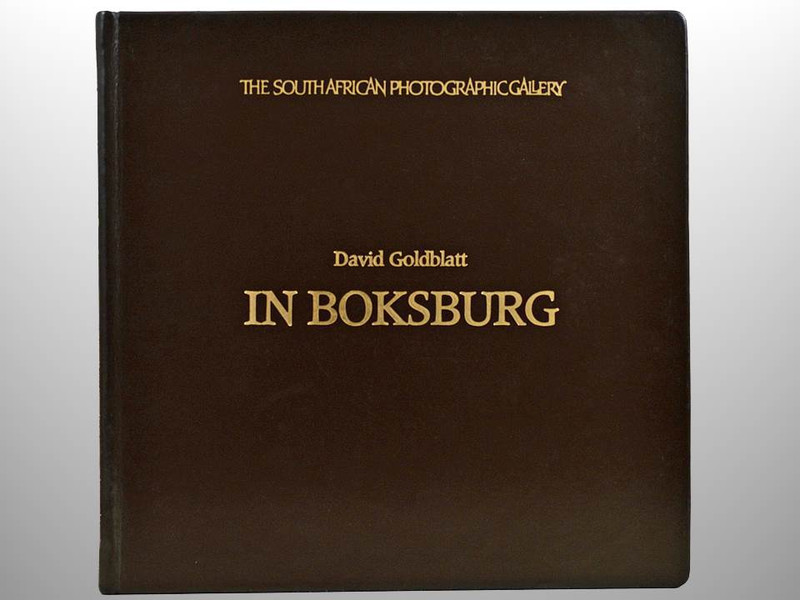 In Boksburg by David Goldblatt, Deluxe Signed First Edition, 19 of 50