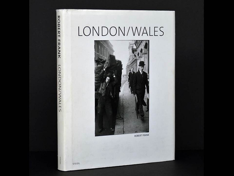 London/Wales by Robert Frank, Signed Edition with Letter of Provenance