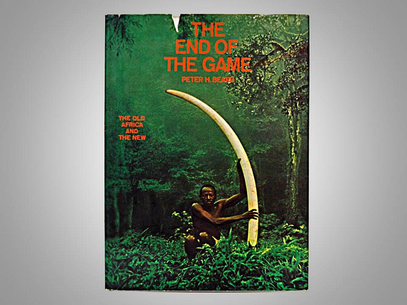 The End of the Game by Peter Beard, First Edition
