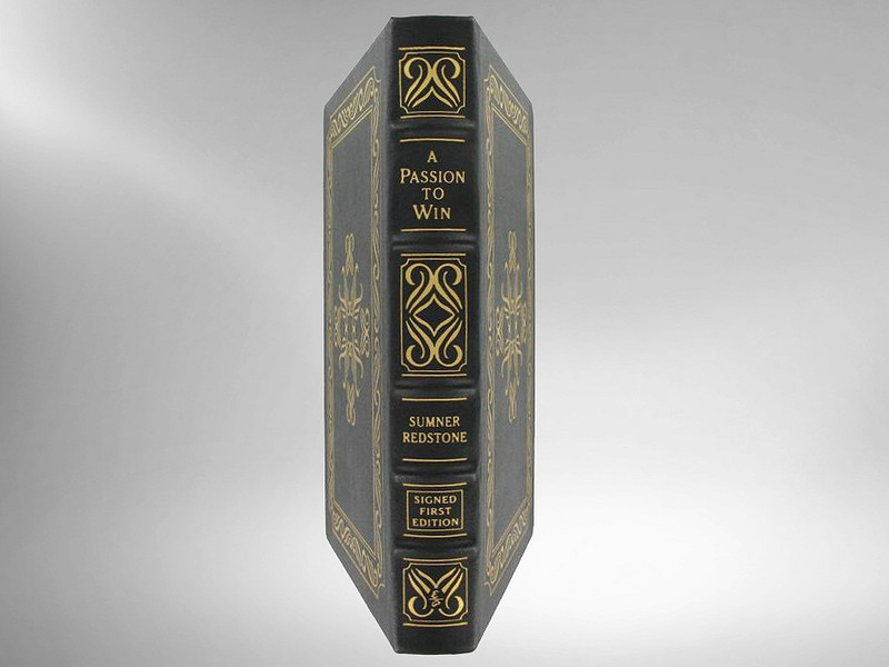 Signed First Editions Signed Leather Bound Books