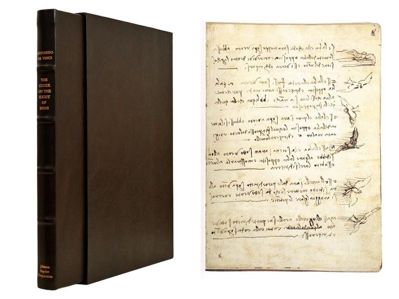 Leonardo da Vinci's Codex on the Flight of Birds in the Royal Library at Turin,1982