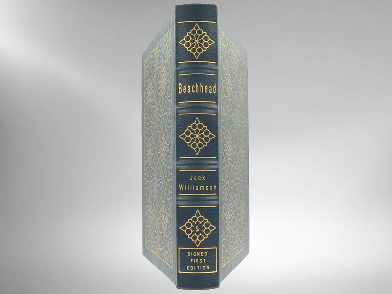 Beachhead by Jack Williamson, Signed 1st Edition, Easton Press, New in Shrinkwrap