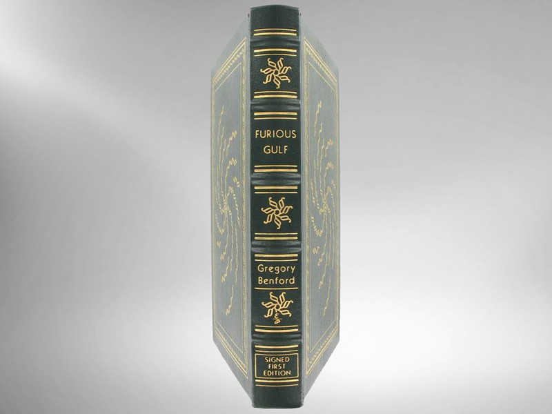 Furious Gulf by Gregory Benford, Signed 1st Edition, Easton Press, New