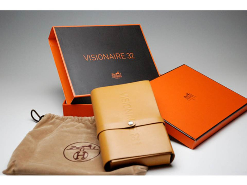 Where? by Visionaire and Hermes, Includes Embossed Hermes Leather Case