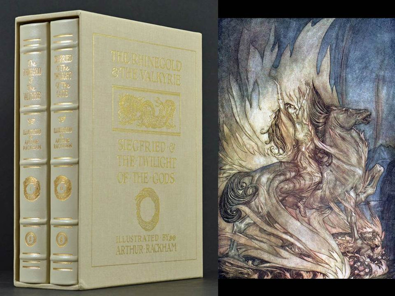 Wagner's Ring Cycle, Illustrated by Arthur Rackham, Deluxe Limited Edition