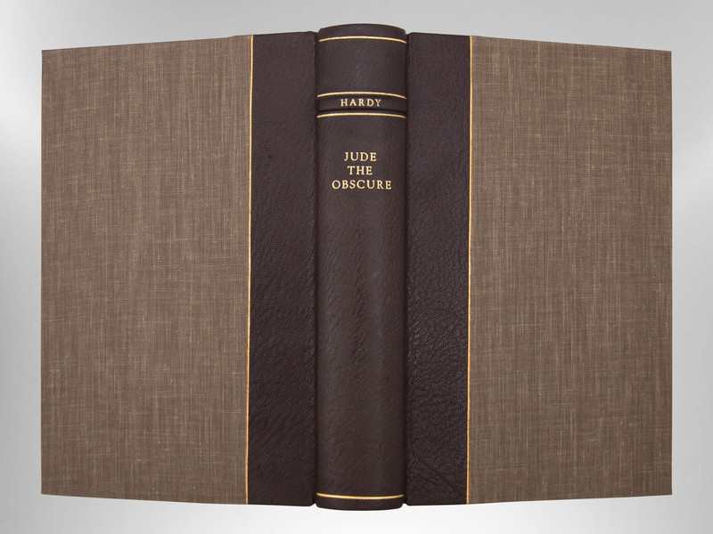 Jude the Obscure by Thomas Hardy, Signed Custom Harcourt Binding