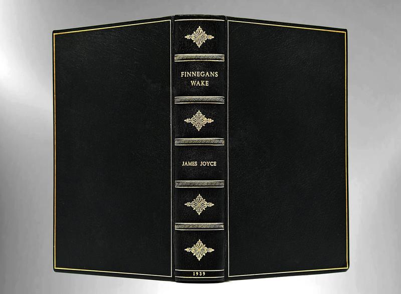 Finnegan's Wake by James Joyce, 1939, First Edition, Custom Leather Binding