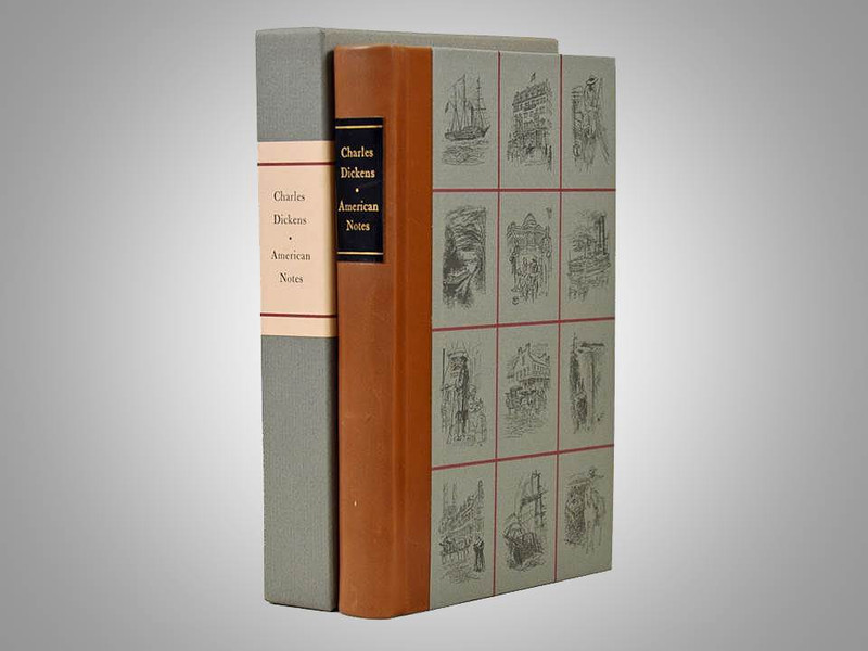 American Notes by Charles Dickens, Illustrated and Signed by Raymond F. Houlihan