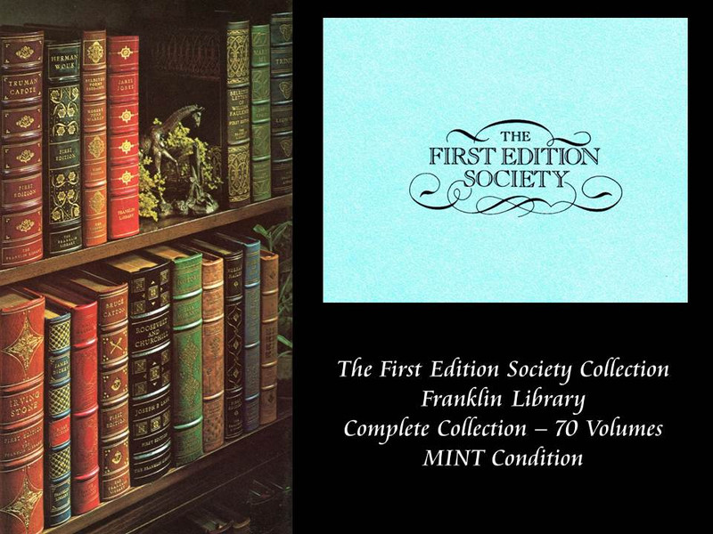 Complete Franklin Library First Edition Society Collection, MINT Conditon