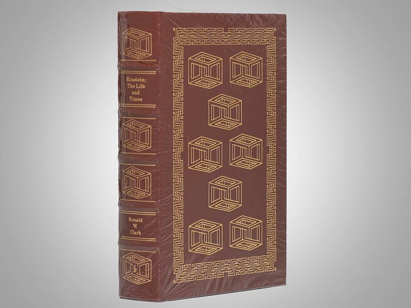 Einstein: The Life and Times by Ronald W. Clark, Easton Press, New in Shrinkwrap