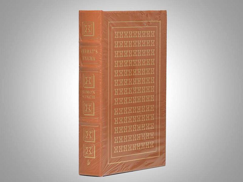 Fermat's Enigma by Simon Singh, Easton Press, New in Shrinkwrap