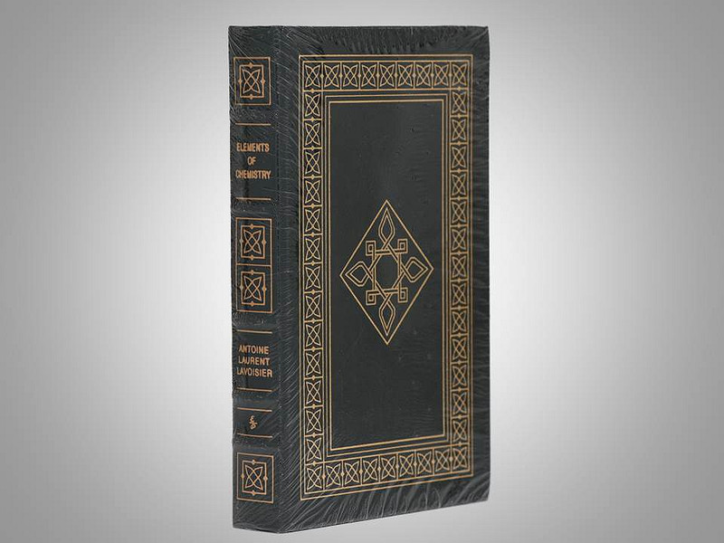 Elements of  Chemistry by Antoine Laurent Lavoisier, Easton Press, Shrinkwrapped