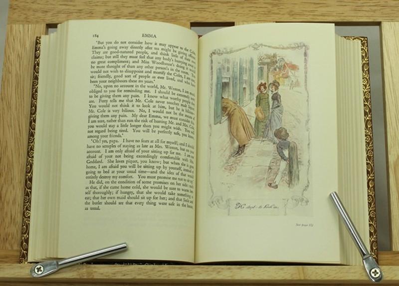 Emma By Jane Austen Illustrated CE Brock Custom Sims Binding