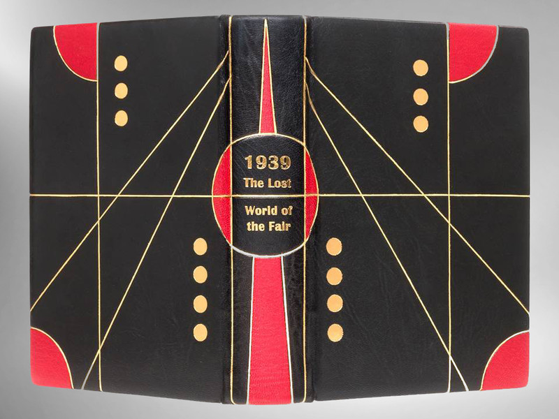 1939: The Lost World of the Fair, Unique Exhibition Binding by Scott Kellar