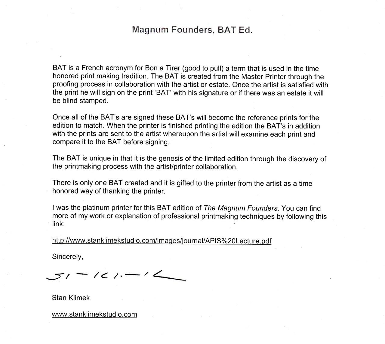 magnum founders fine art photography 16 platinum prints
