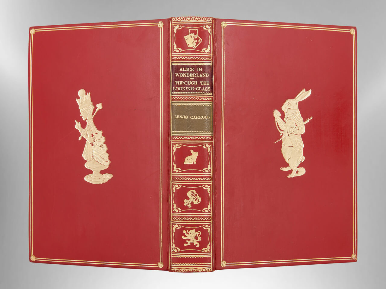 Alice In Wonderland  Through The Looking Glass  Signed-5086