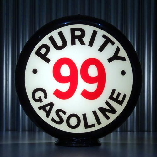 "Purity 99 Gasoline - 13.5"" Gas Pump Lenses"