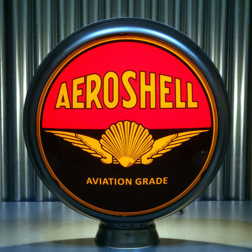 "Shell Aeroshell Gasoline 15"" Ltd Ed Lenses"