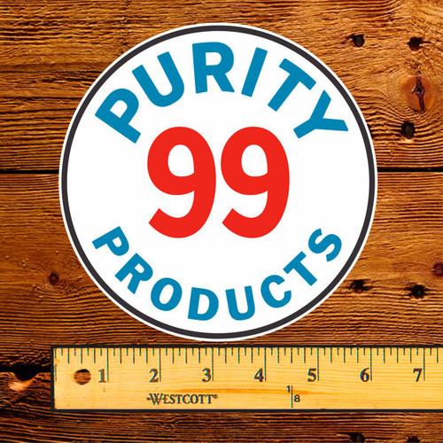 """Purity 99 Products 6"""" Lubester Decal"""