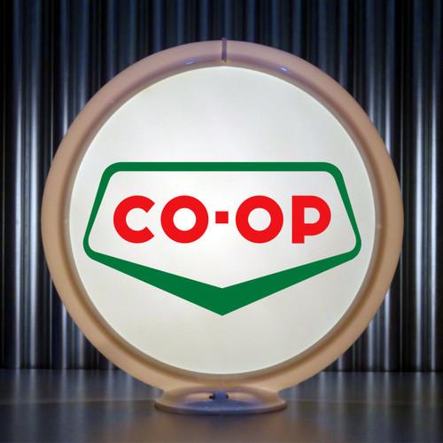 """CO-OP Gasoline - 13.5"""" Gas Pump Lenses"""